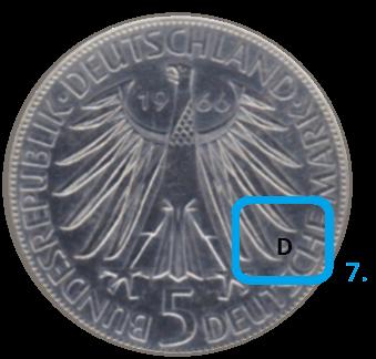 Prägestätte einer Münze