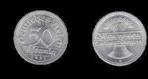Aluminiummünze