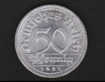 Aluminiummünzen
