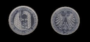 Daten Kennziffern einer Münze