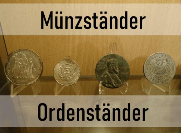 Acryl Münzständer