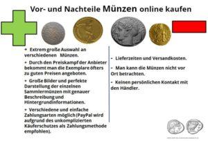 Vorteile Münzen im Internet online kaufen