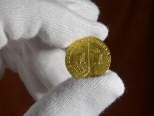 Byzantinische Goldmünze Solidus