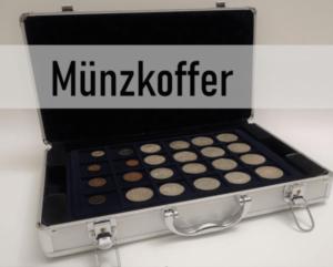 Münzkoffer - Muenzkoffer - Münzen aufbewahren - Münzen sammeln