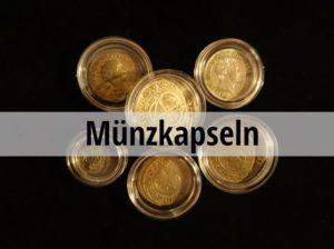 Münzkapseln Münzen aufbewahren