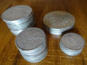 Münzen Stapel Münzstapel
