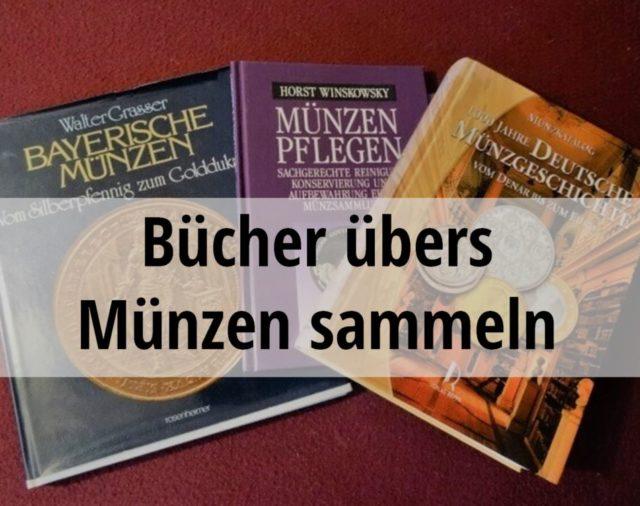 Bücher übers Münzen sammeln