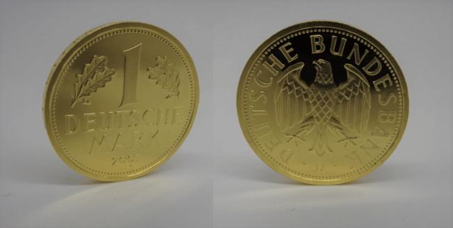1 DM- Goldmark Gedenkmünze