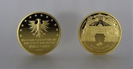 100€ Gold Gedenkmünzen Deutschland