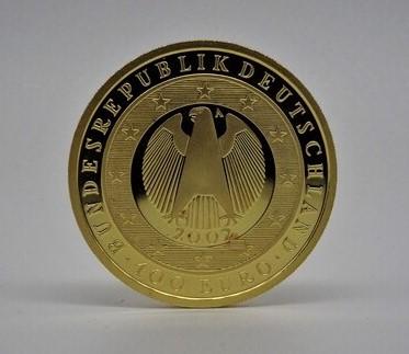 100€ Gold Gedenkmünze