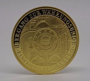 200€ Goldmünze Gedenkmünze zur Währungsunion