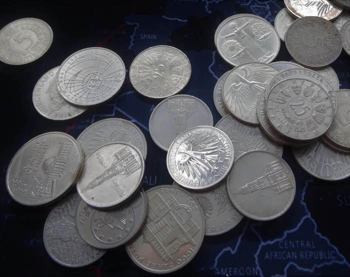 Gedenkmünzen Zahlungsmittel
