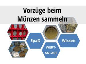 Vorzüge beim Münzen sammeln